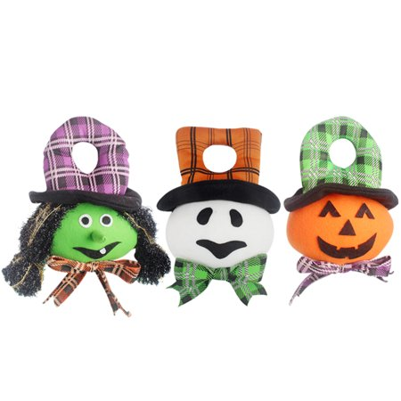 Halloween Stuffed Door Hanger Doll Wall Tree Hanging Toy Halloween Party Supplies Decoration Ornaments--Ghost - image 3 de 6