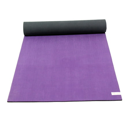 Sol Living Premium Natural Rubber Extra Wide and Thick Yoga Mat Best Exercise Mat Thick Yoga Knee Mat for Comfort Fitness Meditation Pilates Workout Mats Ideal for Home Gym 24 x 72 Inches