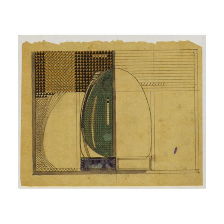 Design for W.J. Bassett-Lowke, 1916 Print Wall Art By Charles Rennie -