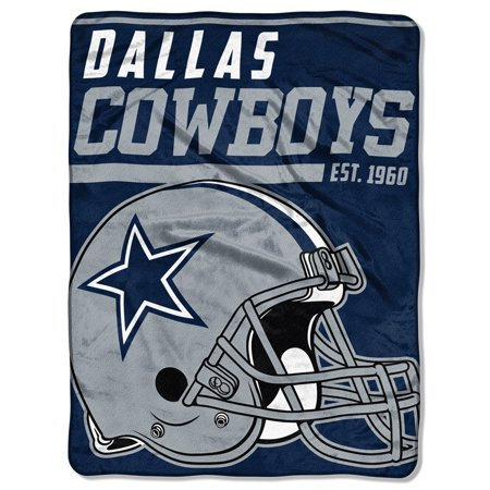 "NFL Dallas Cowboys ""40-Yard Dash"" 46""x 60"" Micro Raschel - Dallas Cowboys Inflatables"