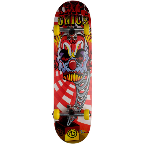 Kryptonics Local Series 2 Skateboard, Clown