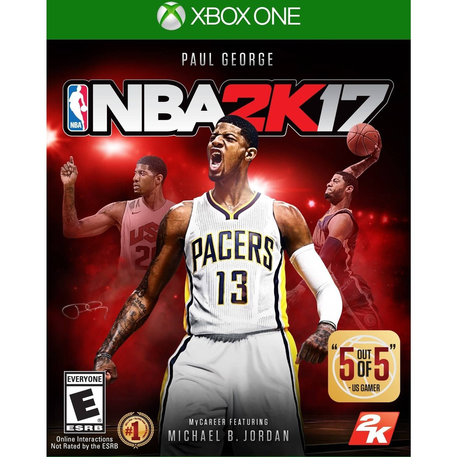 NBA 2K17 - Pre-Owned (Xbox One)