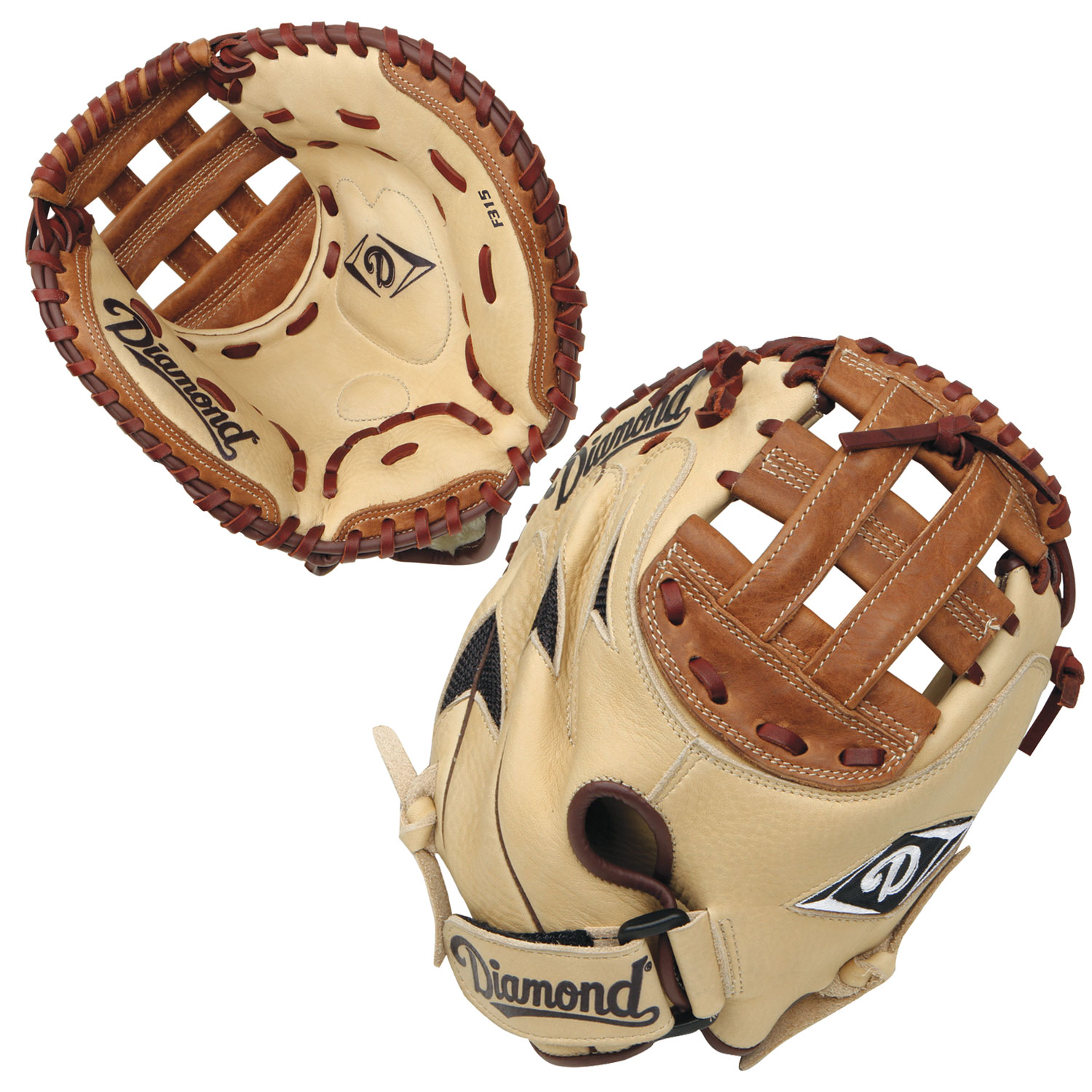 Diamond F315 31.5 Inch DCM-F315 Youth Fastpitch Softball Catcher's Mitt by