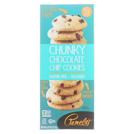 Pamela's Products - Cookies - Chunky Chocolate Chip - Gluten-free - Case Of 6 - 6.25 (Best Chunky Chocolate Chip Cookies)