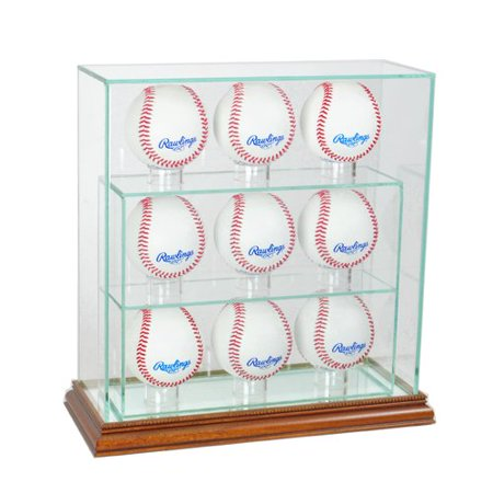 Perfect Cases and Frames Nine Upright Baseball Display Case ...