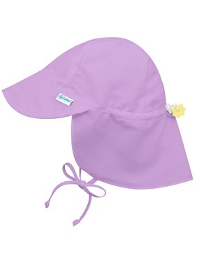 6a6bf3dccdac5 Product Image Iplay Flap Sun Hat for Baby Girls Sun Protection Large Billed  Hat Solid Lavender Purple-