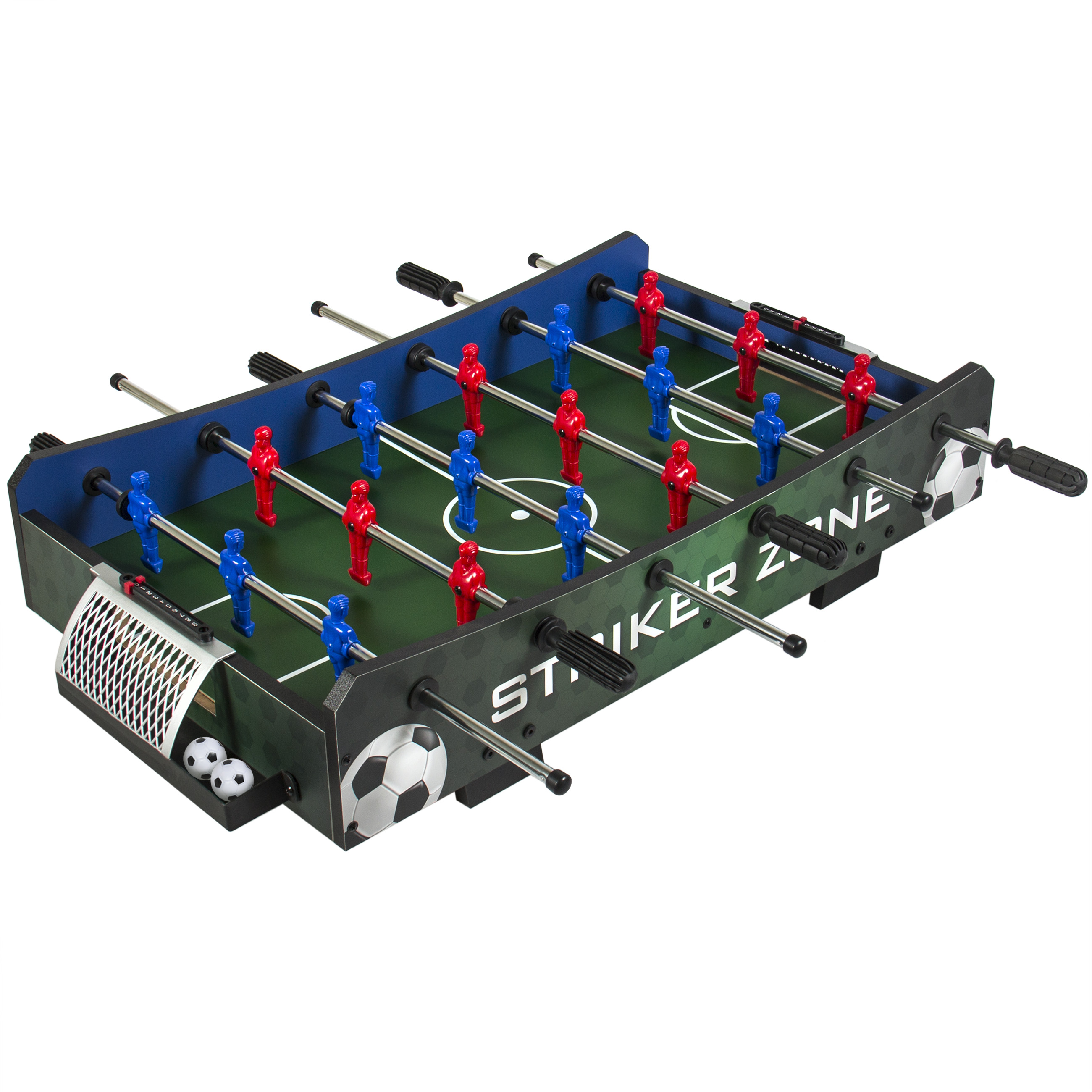 Best Choice Products Striker Zone Tabletop Soccer Foosball Table by