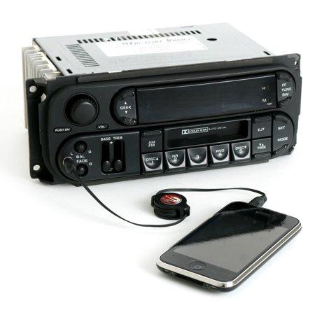 Jeep Ipod - Chrysler Dodge Jeep RBB Radio 2003 - 2007 AM FM Cassette CD Ctrl iPod Aux Input - Refurbished