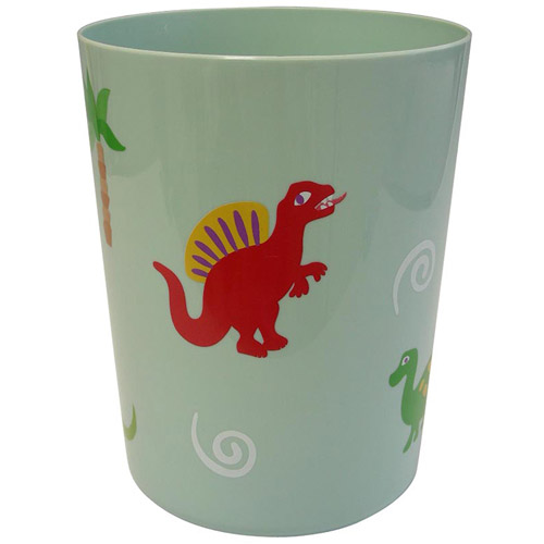 Dinosaur Friends Wastebasket