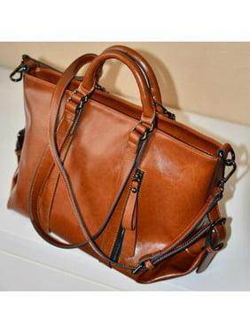 Product Image Sawpy Fashion Women s handbag Handbag Lady Shoulder Bag Tote  Purse Oiled Leather Women Messenger New d39c7a090105e