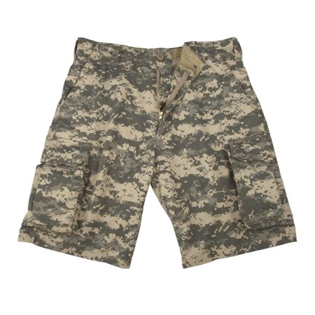 New, Vintage ACU Digital Camo Cargo Shorts, Mens