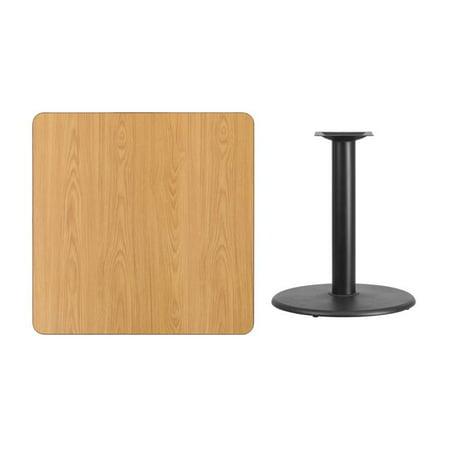 Square Laminate Dining Table