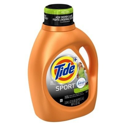 Tide Plus Febreze Freshness Liquid Laundry Detergent, Sport Active Fresh Scent, 36 Loads, 69 Fl Oz