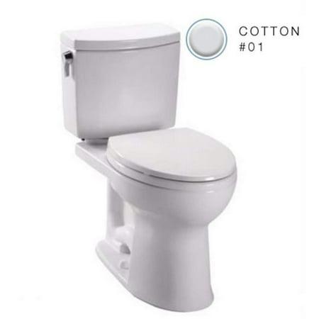 Toto Drake Toilet Bowl C454CUFG#01 Cotton White