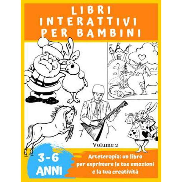 Libri Per Bambini Libri Da Colorare Bambini 3 4 5 6 Anni Librone Da Disegnare Libri
