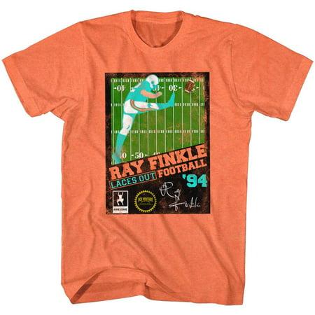 Ace Ventura Movies Ray Finkle Football Adult Short Sleeve T -