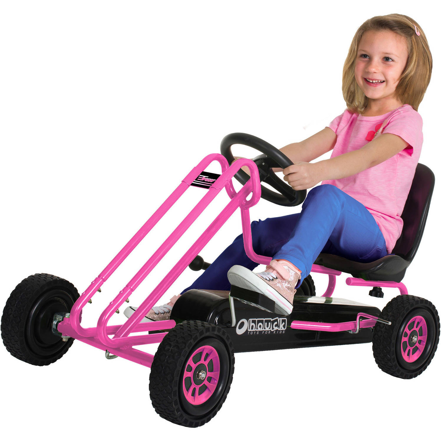 Speed Pedal Go Kart, Pink