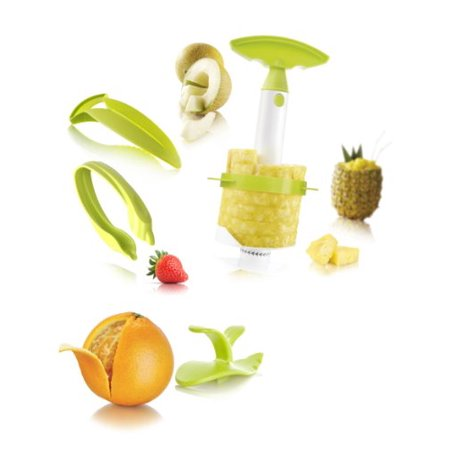 - Vacu Vin Fruit Preparation Set (Including 4-in-1 Pineapple Peeler, Corer, Slicer and Wedger)