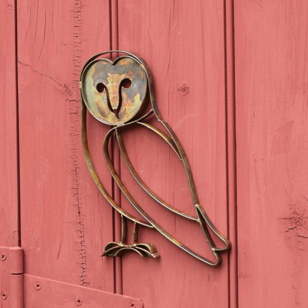 Ancient Graffiti Barn Owl Wall Decor