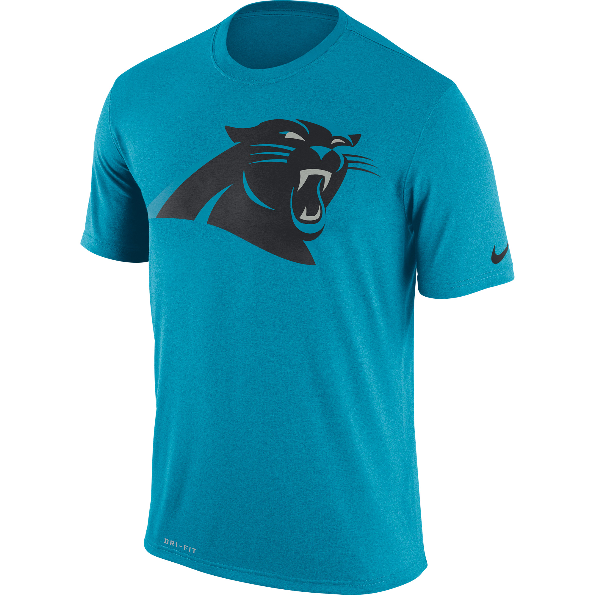 Nike Men's Carolina Panthers Legend Logo Performance Blue T-Shirt