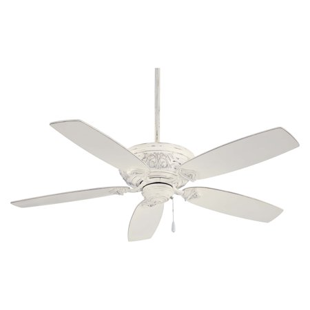 54' Energy Star Ceiling Fan (Minka Aire F659-PBL Classica 54 in. Indoor Ceiling Fan - Provencal Blanc - ENERGY STAR)