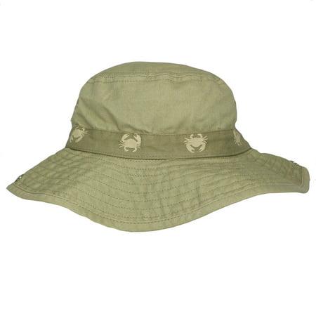 751257e4b76 Carter s Safari Outdoor Bucket Little Boys Sun Hat Khaki Beige 100% Cotton  4-8 - Walmart.com