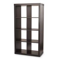 Better Homes & Gardens 8-Cube Organizer, Espresso