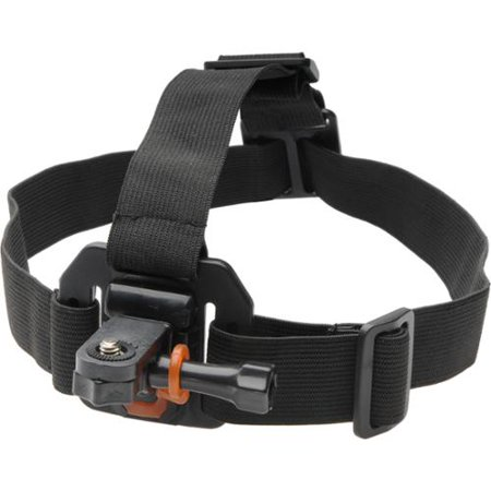 Vivitar Pro Series Head Strap Mount for GoPro & All Action Cameras ()