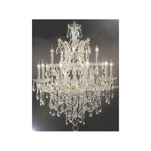 Gallery Harrison Lane Maria Theresa 13-Light Crystal Chan...