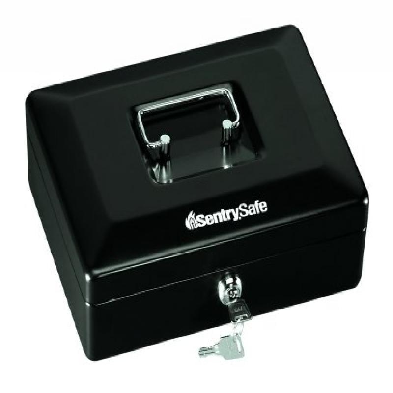SentrySafe CB-10 Cash Box, .12 cu ft