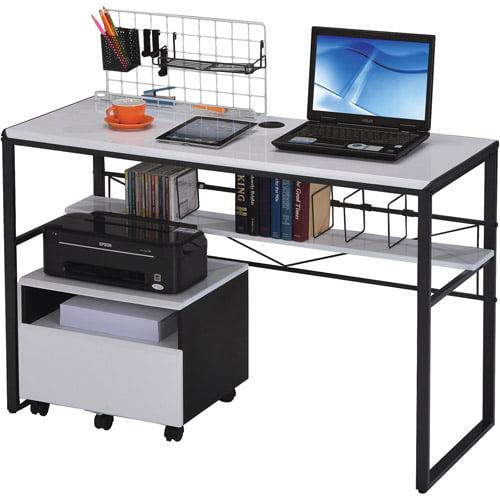 Ellis Computer Desk Multiple Colors Walmart Com