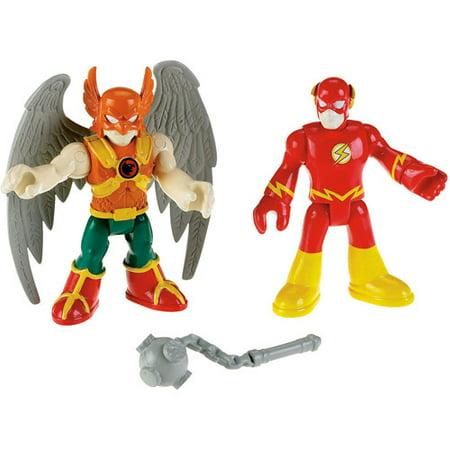 Imaginext DC Super Friends Hawkman & the Flash Mini Figures