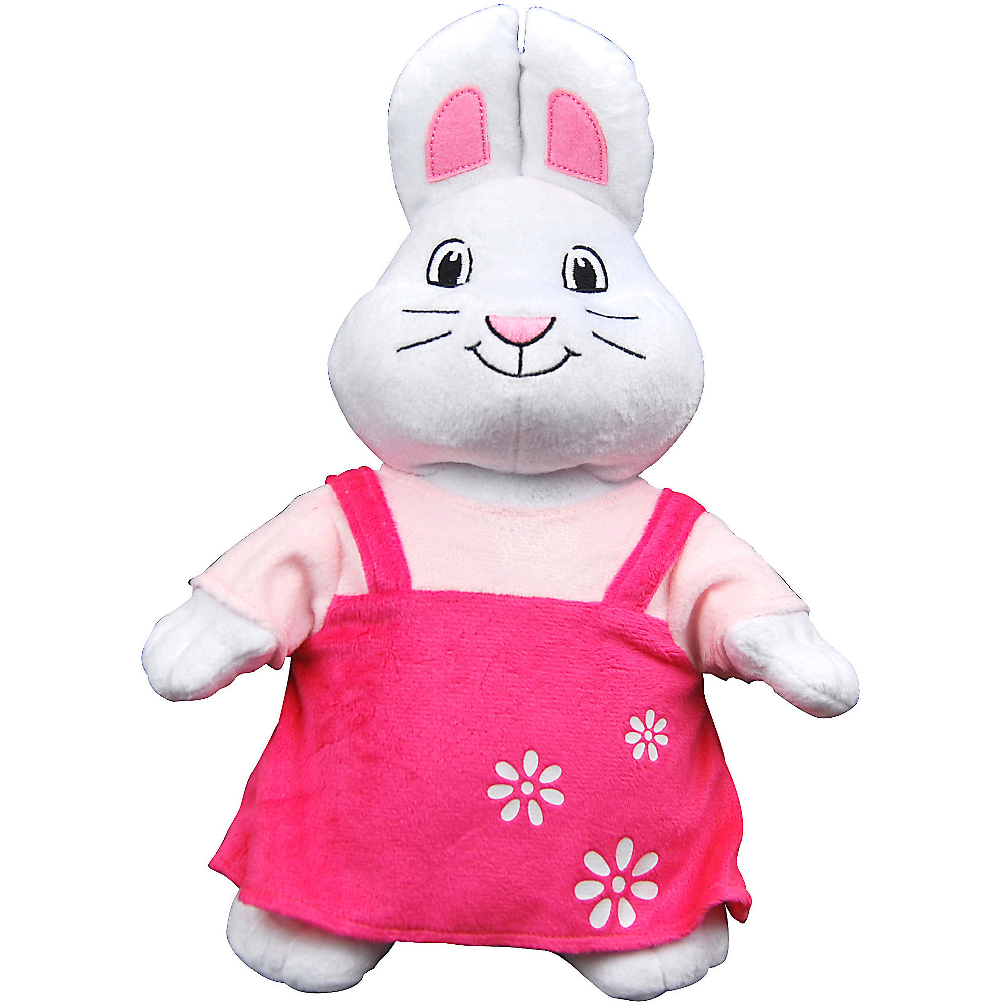 "max and ruby 13"" ruby plush doll, white - walmart"