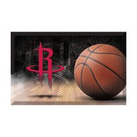 "NBA - Houston Rockets Scraper Mat 19""x30"" - Ball"