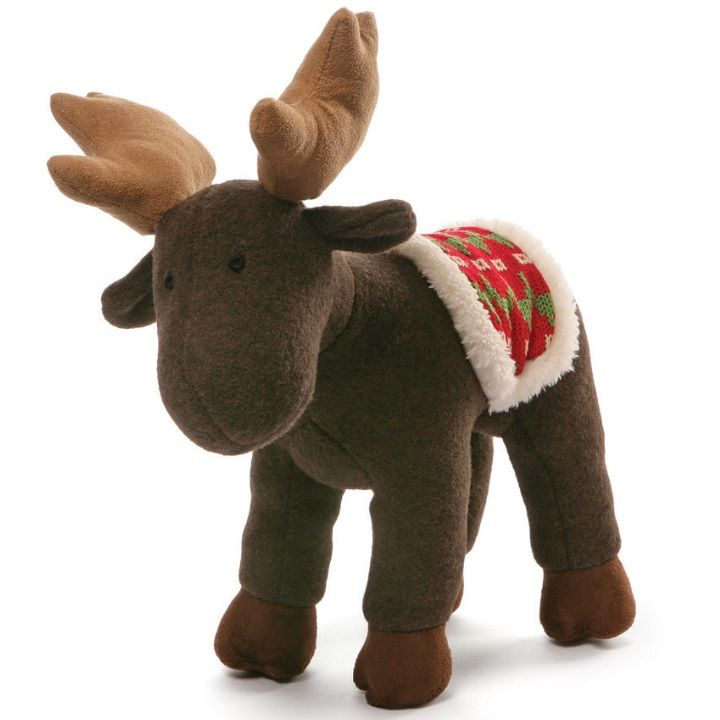 Winter Moose Brown 9 inch - Holiday Stuffed Animal by GUND (4053900)