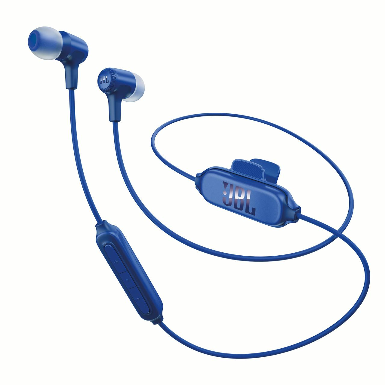 JBL Synchros E25BT Wireless In-ear Headphones (Blue)