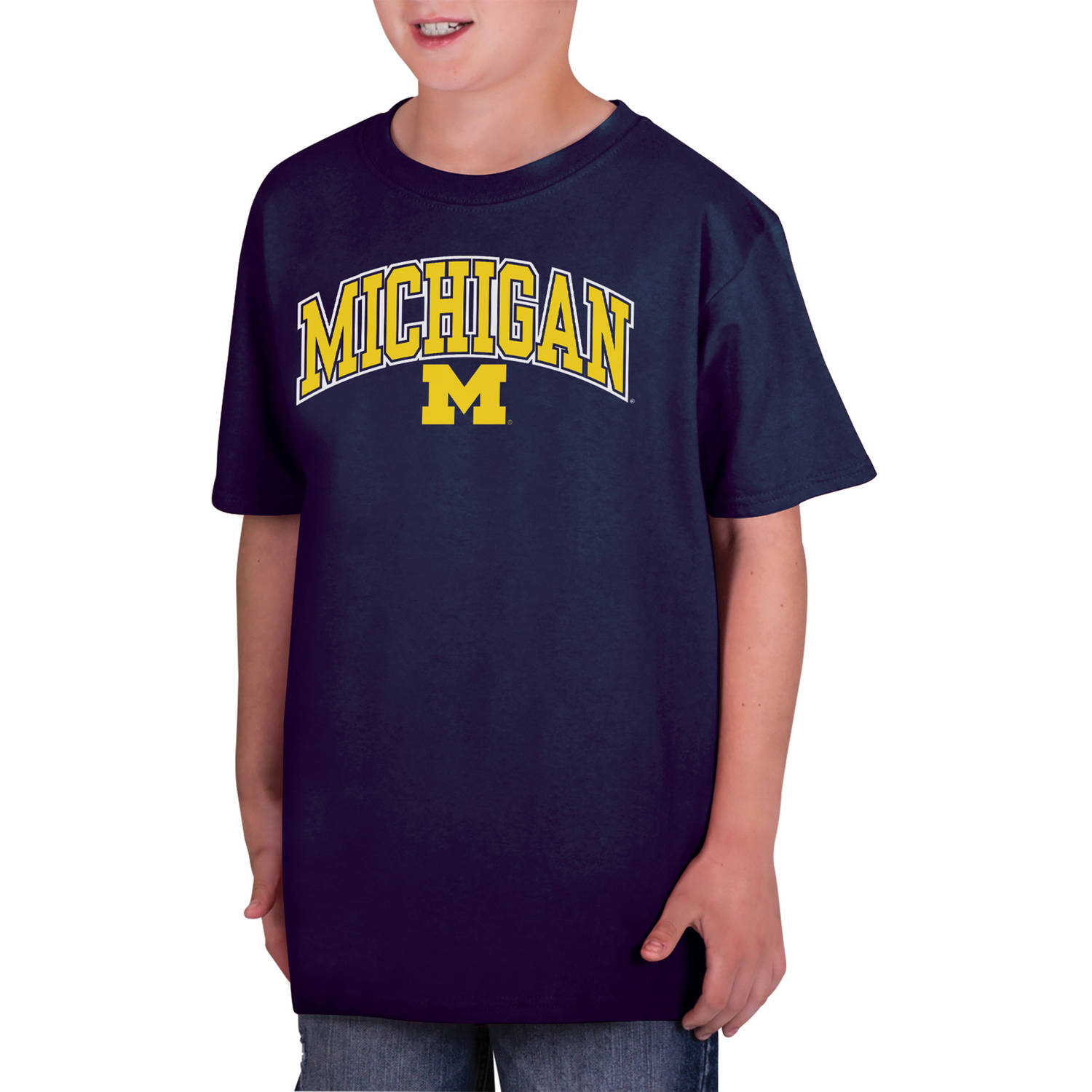 NCAA Michigan Wolverines Boys Classic Cotton T-Shirt