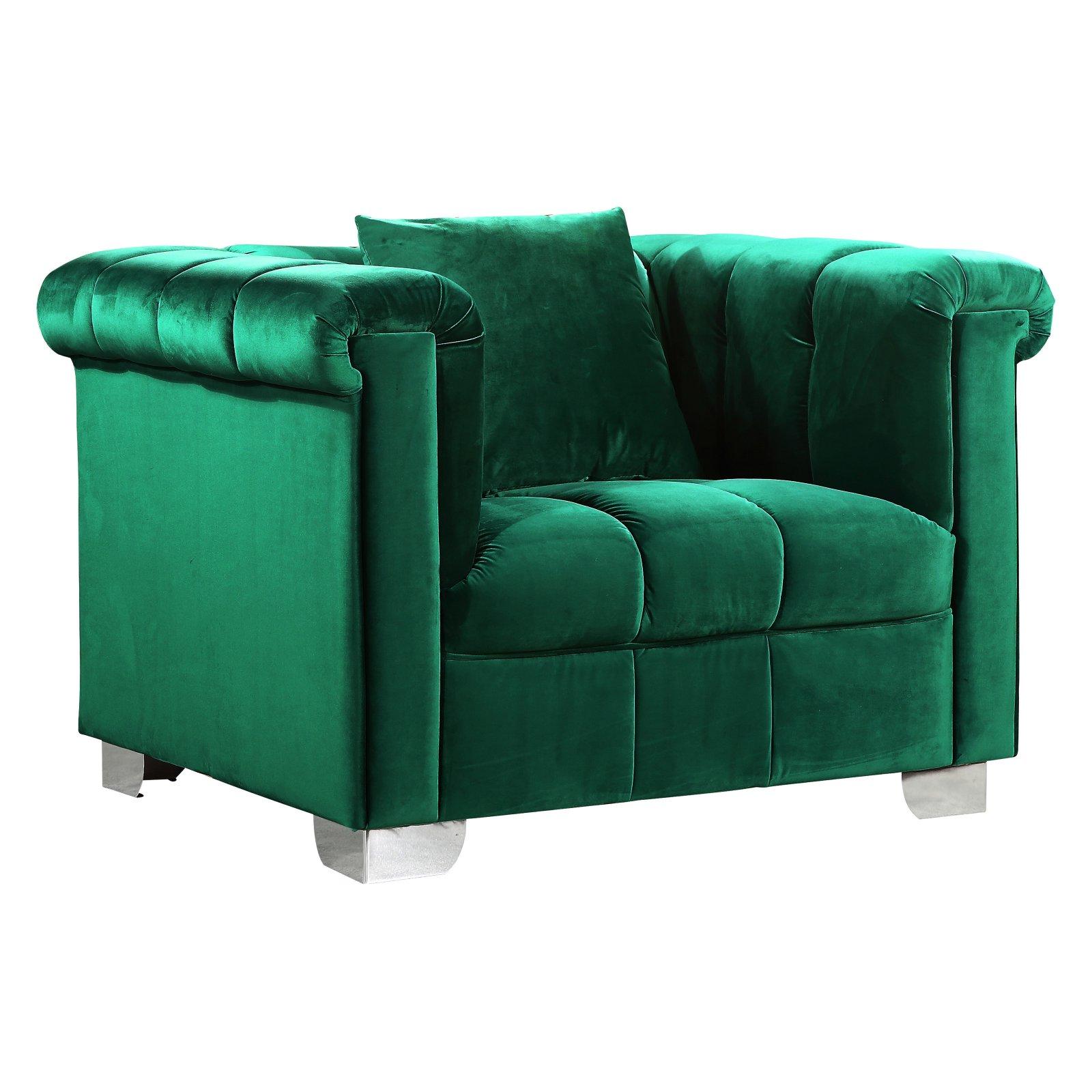 Meridian Furniture Inc Kayla Velvet Chair