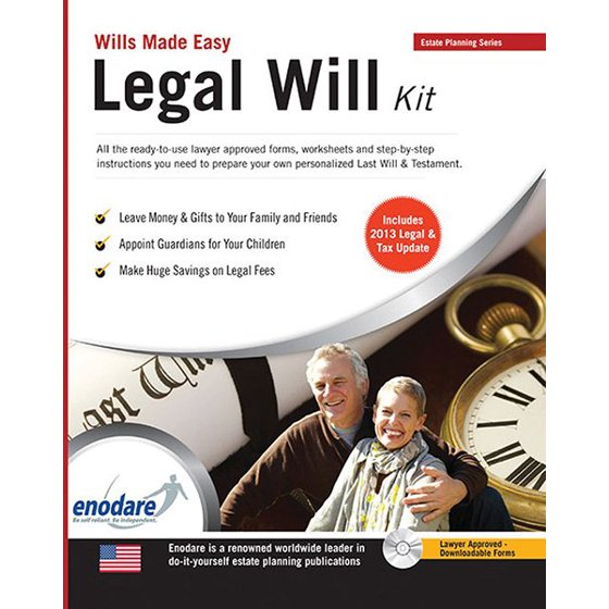 Legal will kit walmart solutioingenieria Gallery