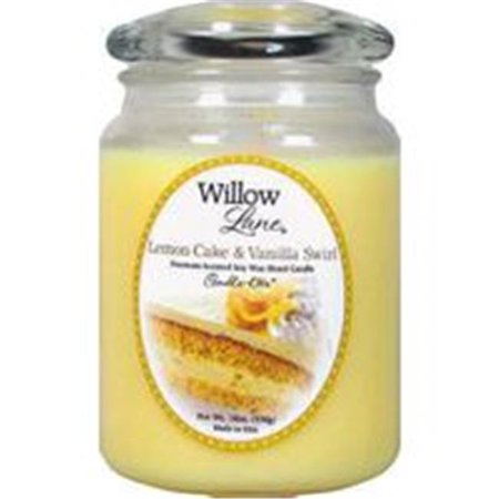 Candle-Lite Co 19Oz Jar Candle Lemon Vanilla 1646864 Pack Of 2 - image 2 of 2
