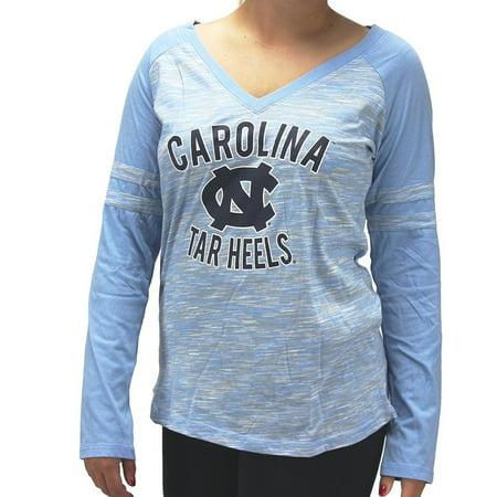 Creative Apparel Women  39  S North Carolina Tarheels Unc Long Sleeve T Shirt
