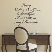 Belvedere Designs LLC Every Love Story Wall Quotes  Decal