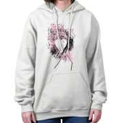 Breast Cancer Awareness Shirt Pink Ribbon Pray for Cure Gift Hoodie Sweatshirt