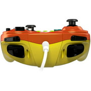PDP Wired Fight Pad for Wii U - Samus - Cable - Nintendo, Wii, Wii U - Bright Orange, Multicolor