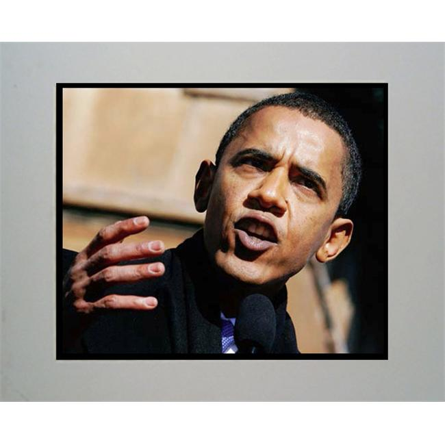 Encore Select M2-obama1 Barack Obama Speech 11x14 Mat