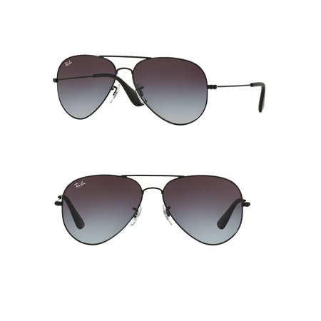 Ray-Ban Unisex RB3558 Aviator Metal Sunglasses, 58mm ()