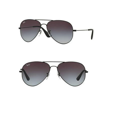 Ray-Ban Unisex RB3558 Aviator Metal Sunglasses, 58mm (Hot Pink Ray Ban Sonnenbrillen)