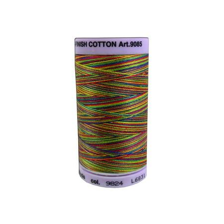 Mettler Silk Fin Cotton #50 500yd Multi Prime Kids ()