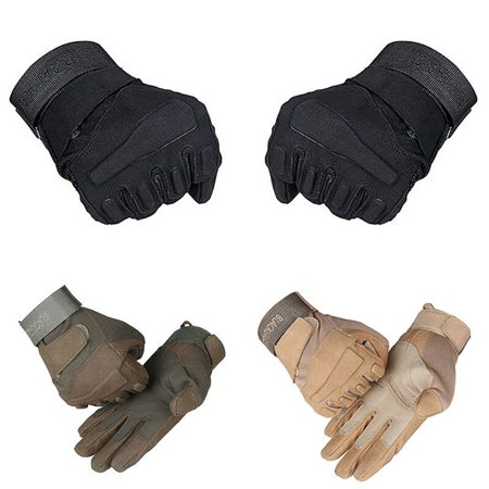 Outdoor Men Wear Antiskid Army Military Tactical Gloves Outdoor Full Finger Fashion