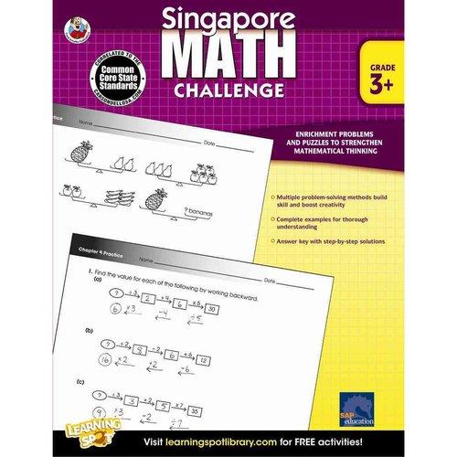 Singapore Math Challenge: Grade 3+